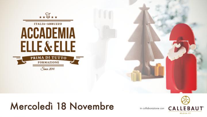 Il cioccolato e le sue applicazioni Natalizie - demo Elle&Elle
